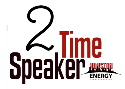 2 Time Speaker - Houston Energy Breakfast